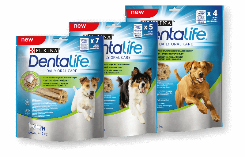 Purina® DentaLife® for dogs