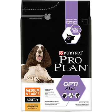 ​PURINA® PRO PLAN® Medium & Large Adult 7+ with OPTIAGE® Rich in chicken